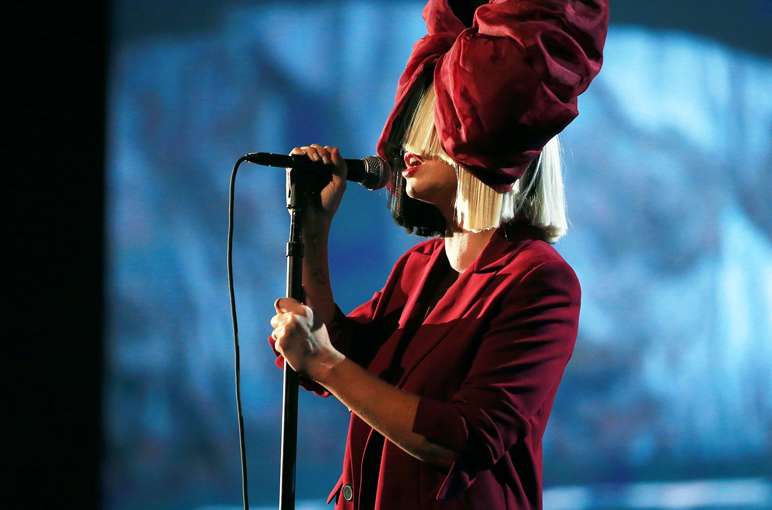 Sia performs in Los Angeles