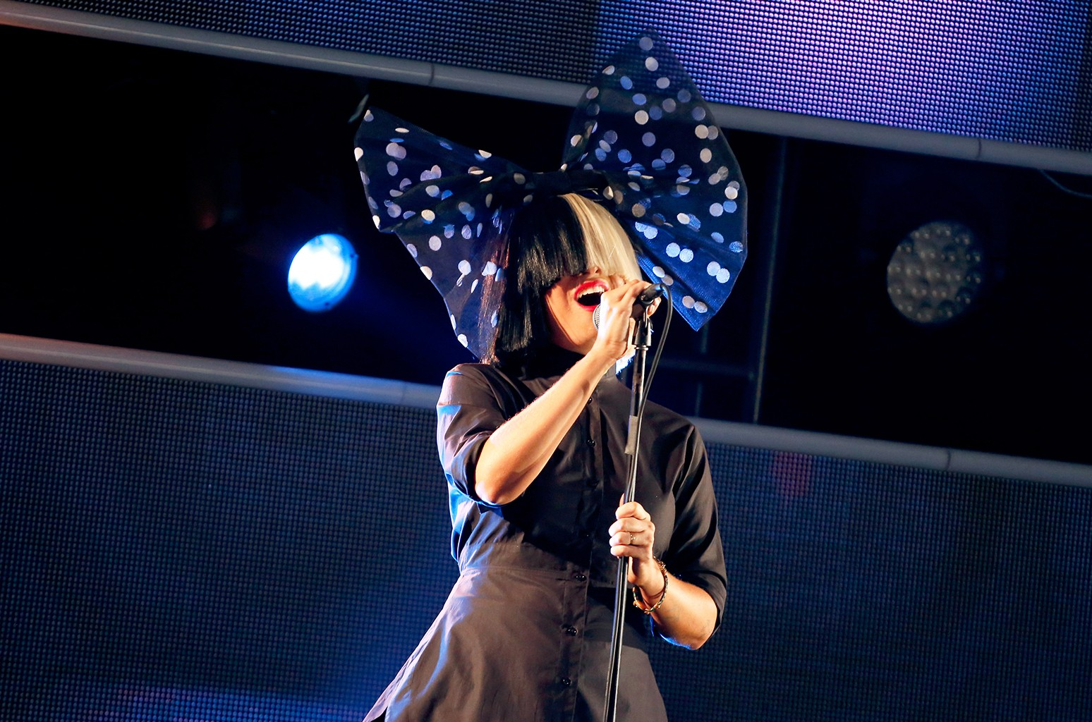 Sia performs during SXSW 2016 in Austin