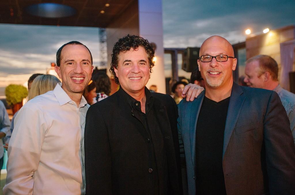 Silvio Pietroluongo, Scott Borchetta & Frank DiGiacomo