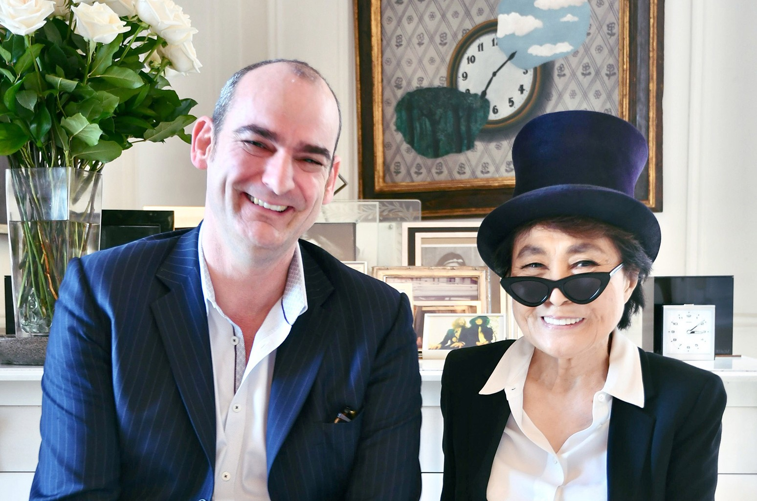 Simon Hilton Yoko Ono