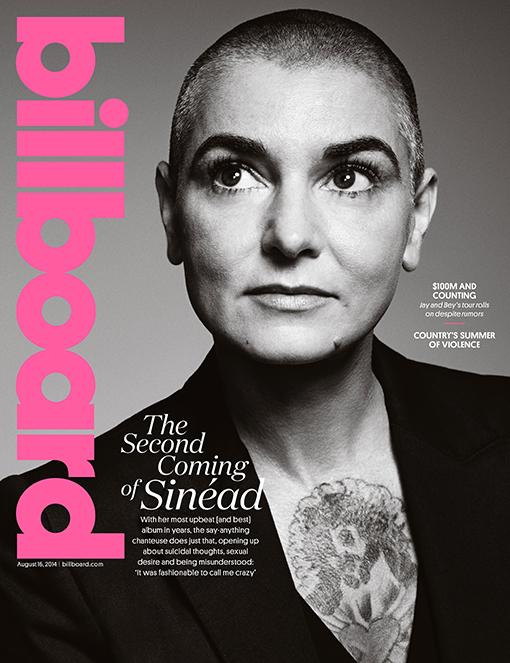 Sinead O'Connor Billboard Cover