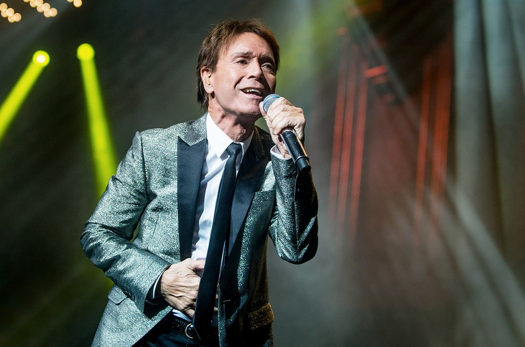 Sir Cliff Richard performs in London
