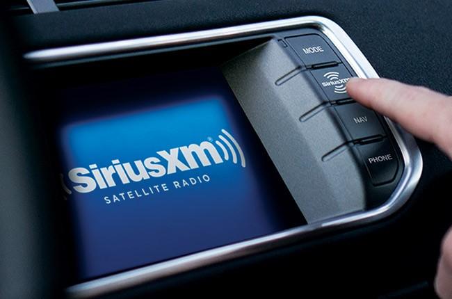 siriusxm car radio