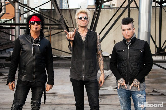 Sixx: A.M. photographed on Feb. 29, 2016 in New York City.