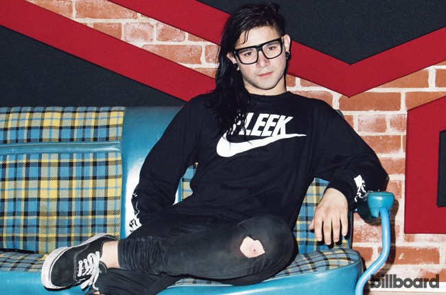 Skrillex photographed on June 2, 2015 at his home in Los Angeles, Calif.