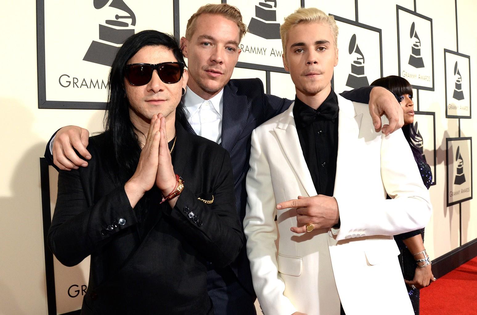 Skrillex, Diplo and Justin Bieber