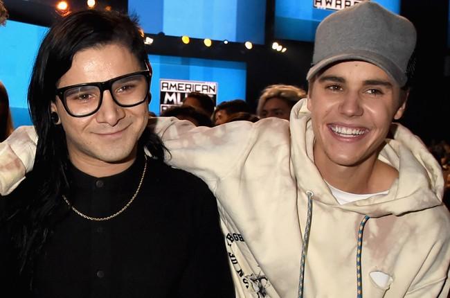 Skrillex and Justin Bieber
