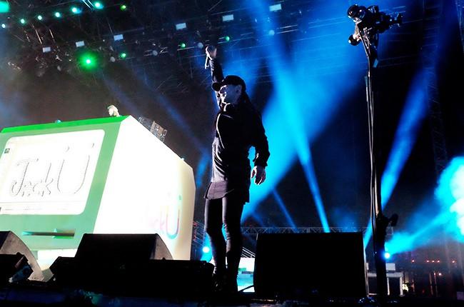 DJ Skrillex of Jack U