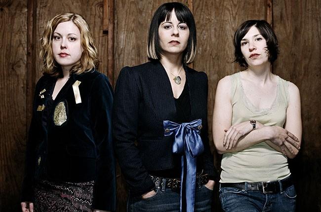 Sleater-Kinney, 2005.