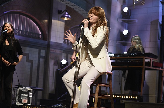 snl florence and the machine 2015