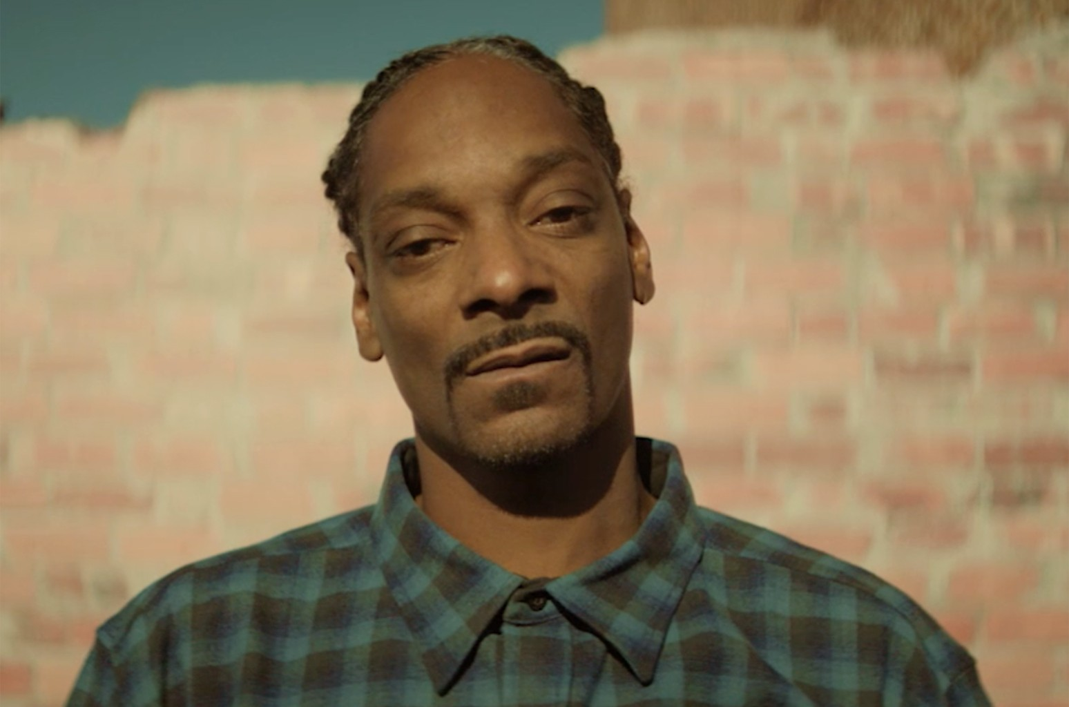 Snoop Dogg in a video for Adidas Originals