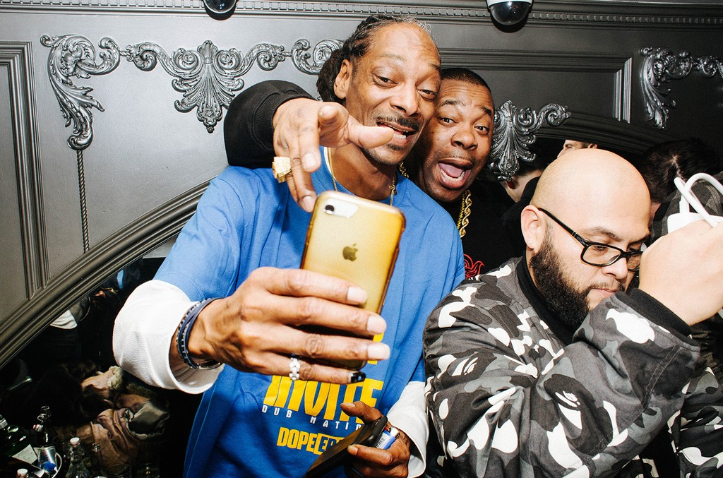 Snoop Dogg and Busta Rhymes
