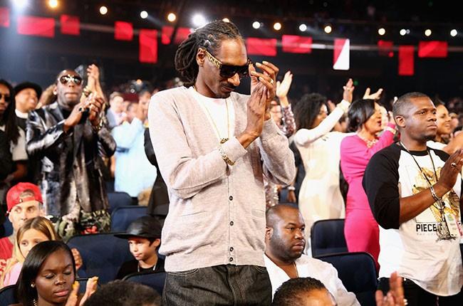 Snoop Dogg at the 2014 BET Awards