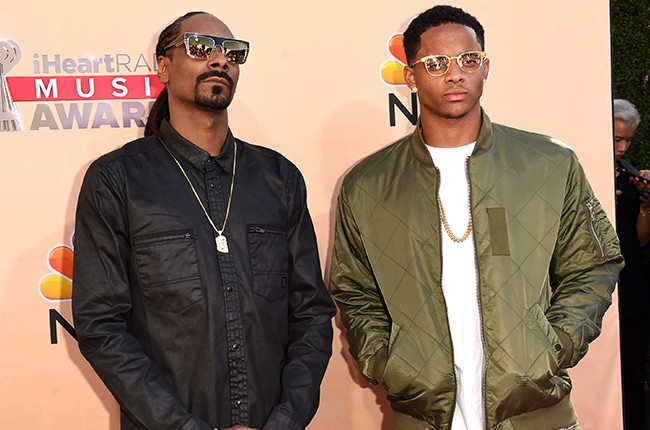 Snoop Dogg and Cordell Broadus 2015