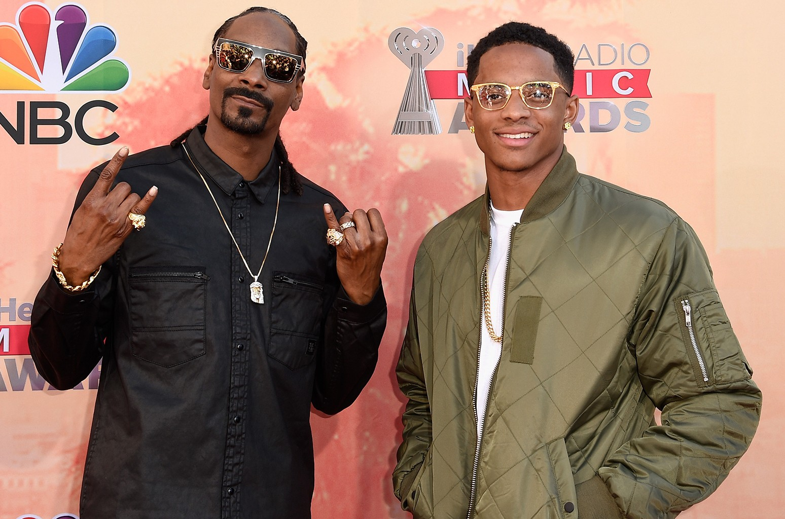Snoop Dogg and Cordell Broadus