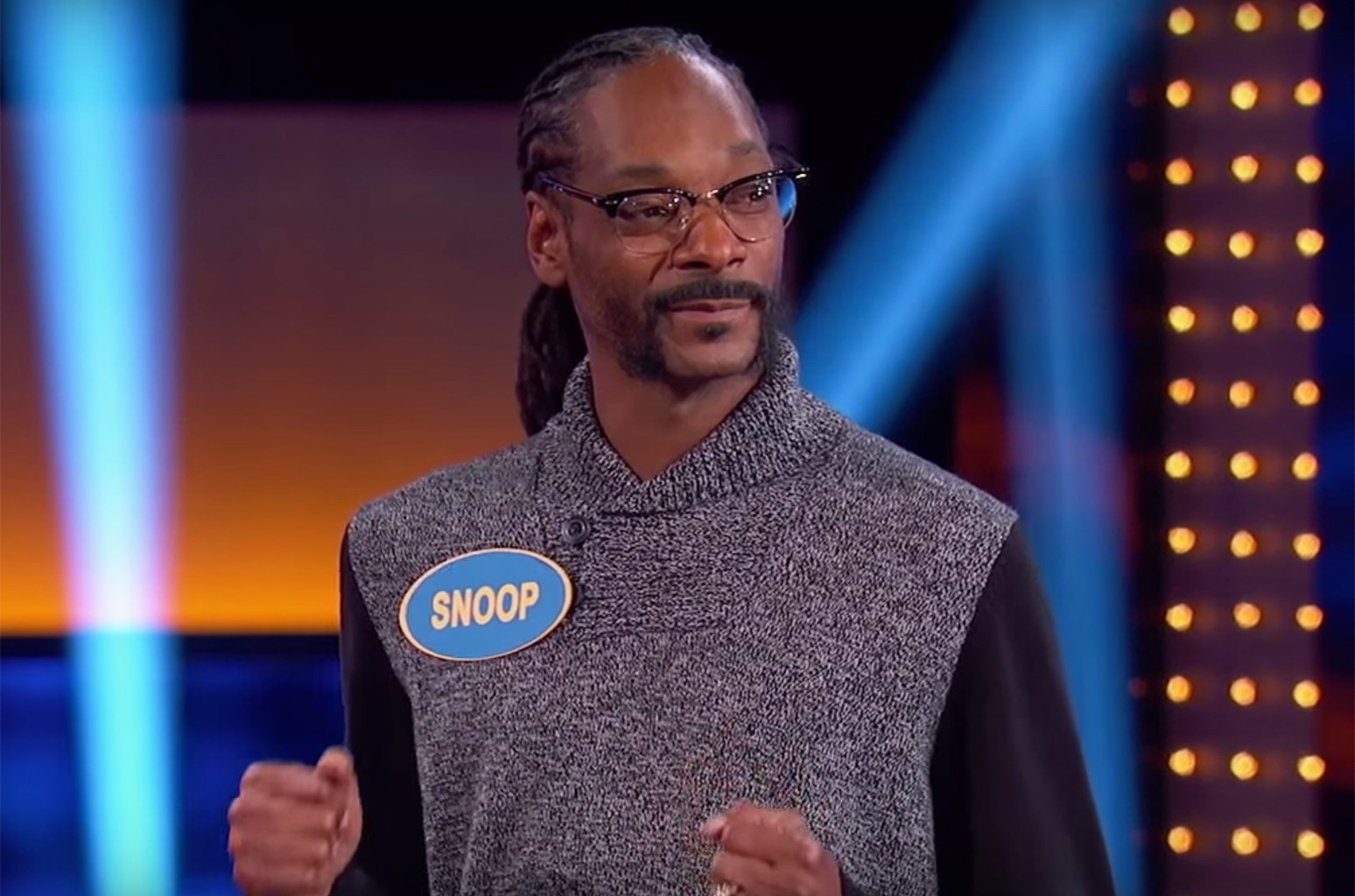 Snoop Dogg on Family Fued.