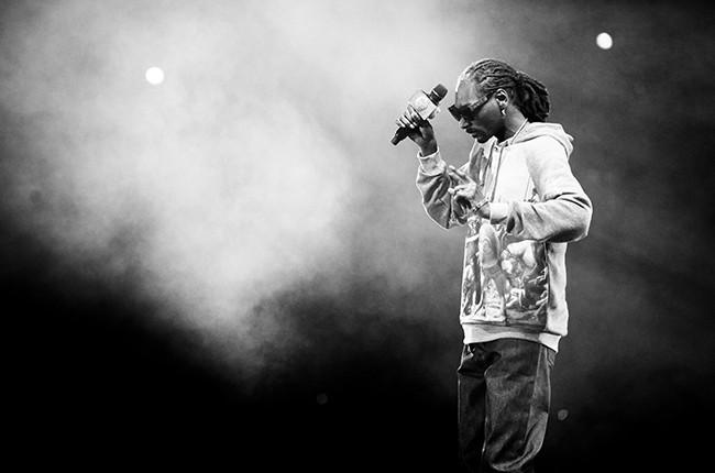 Snoop Dogg at the Festival International d'Ete de Quebec 2014