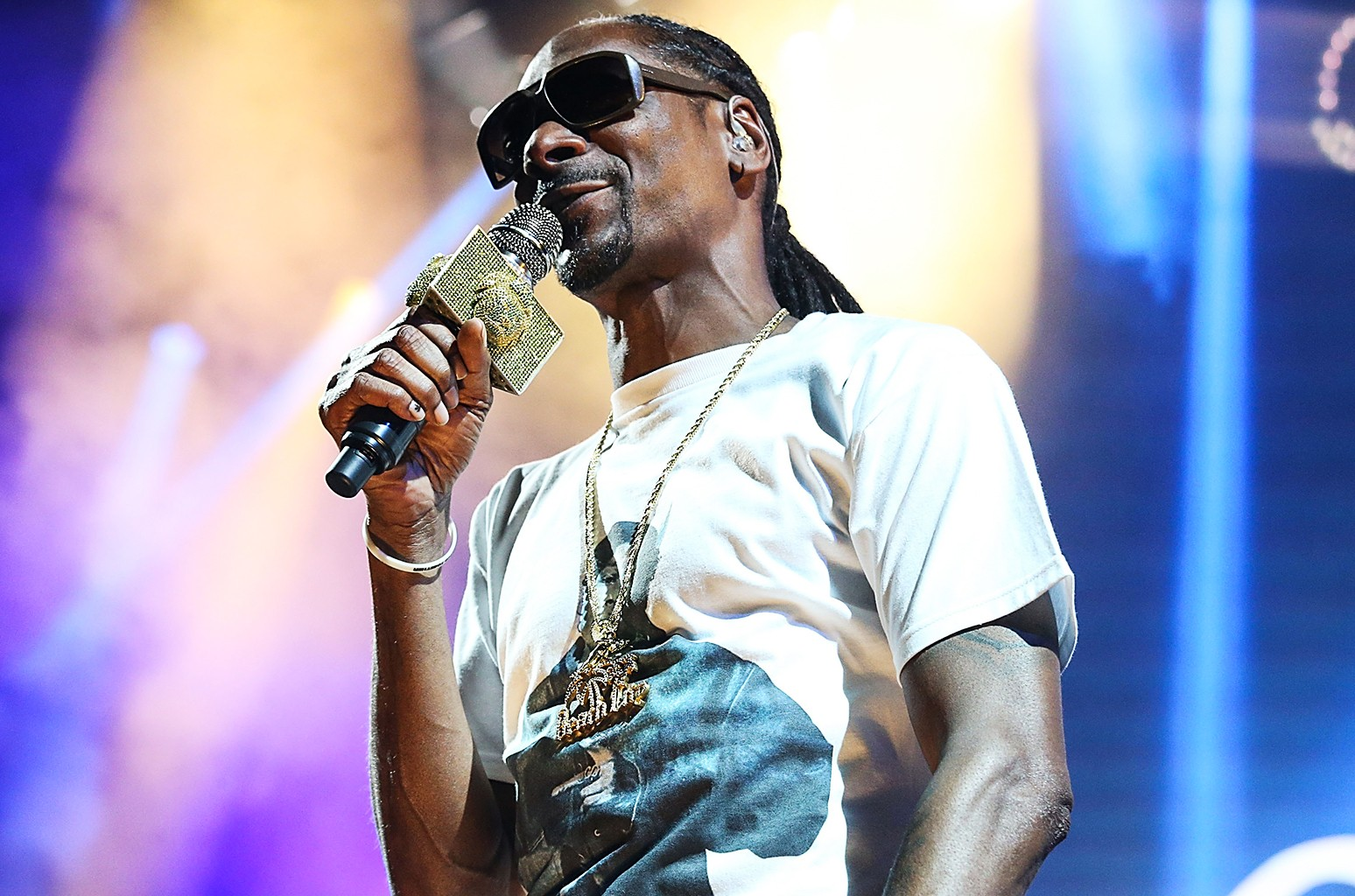 Snoop Dogg performs at the Austin360 Amphitheater on Aug. 21, 2016 in Austin, Texas.