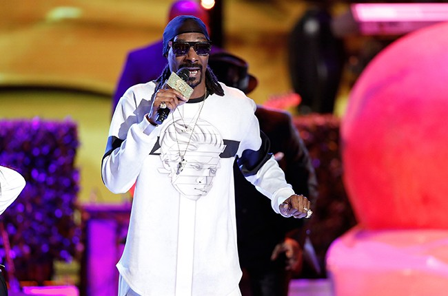 Snoop Dogg performs on I Can Do That on June 16, 2015.