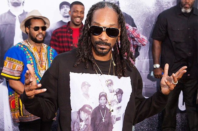 Snoop Dogg straight outta compton premiere 2015