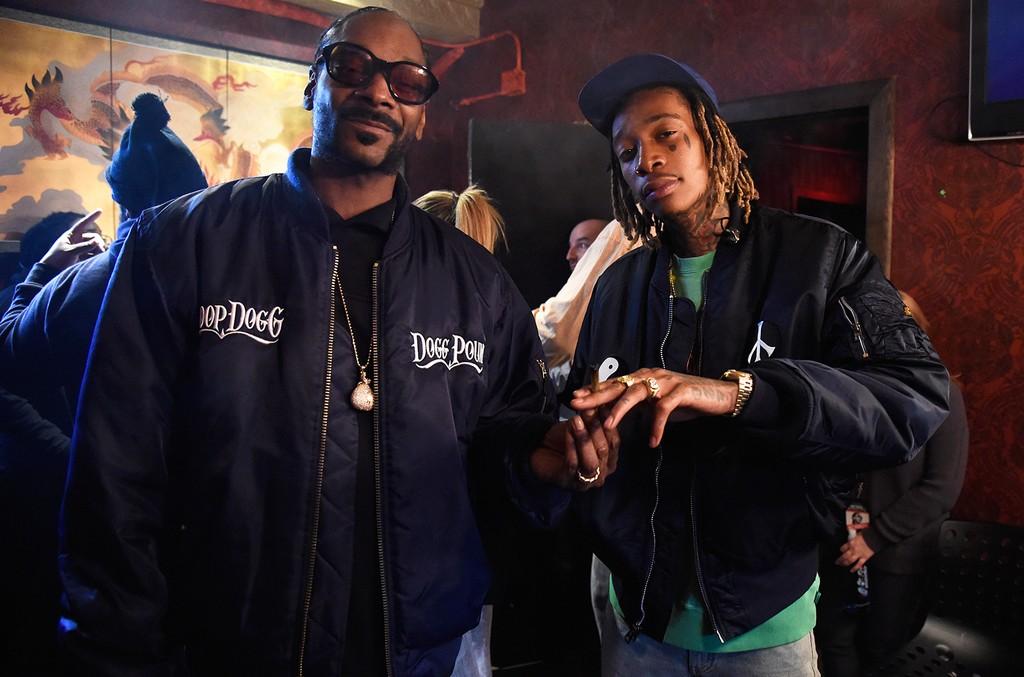 Snoop Dogg and Wiz Khalifa in 2016