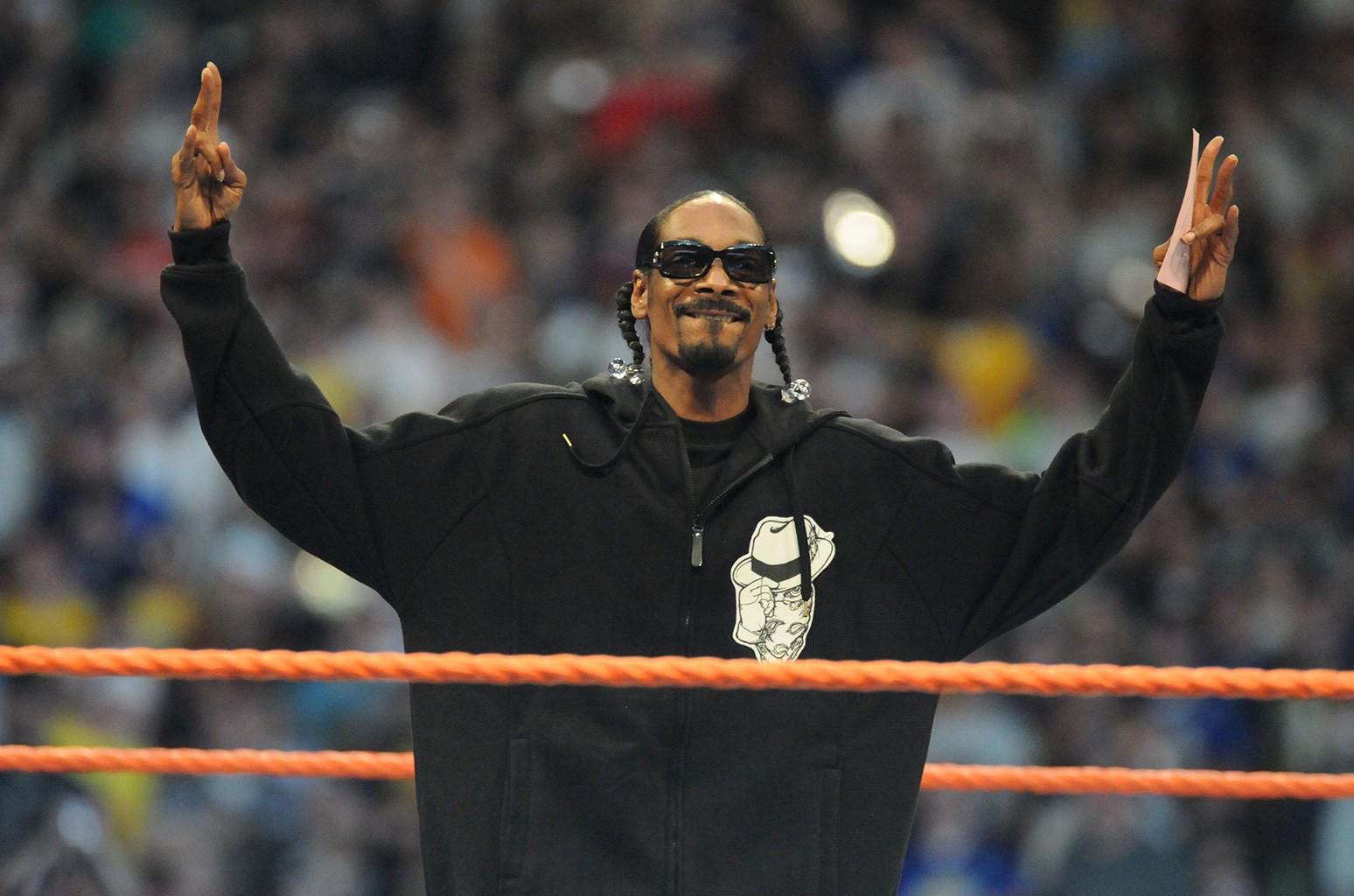 Snoop Dogg Wrestlemania