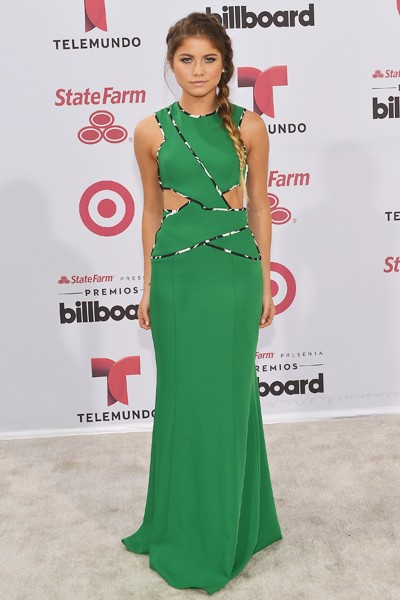 Sofia Reyes arrives at 2015 Billboard Latin Music Awards