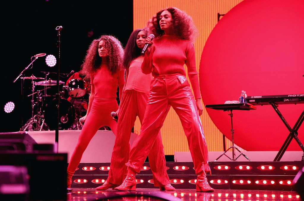 Solange Knowles performs at the 2017 Essence Festival Presented By Coca Cola at the Mercedes-Benz Superdome on July 2, 2017 in New Orleans.
