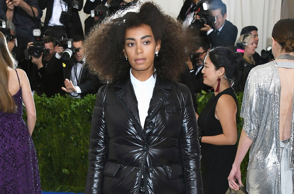"Solange attends the ""Rei Kawakubo/Comme des Garcons: Art Of The In-Between"" Costume Institute Gala at Metropolitan Museum of Art on May 1, 2017 in New York City."