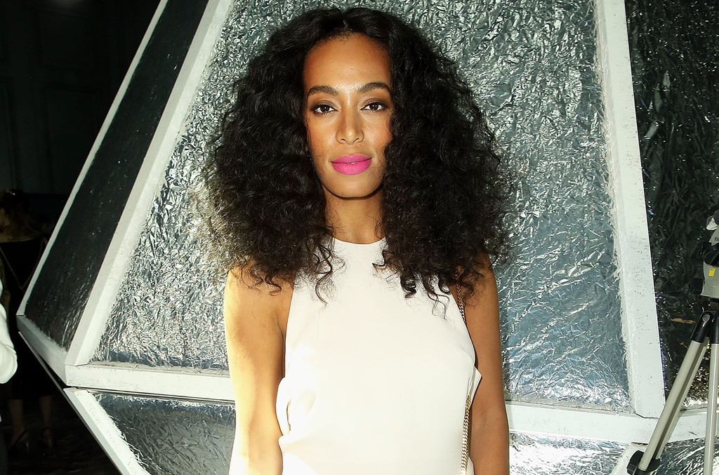 Solange Knowles photographed at Grand Palais on March 4, 2015 in Paris.