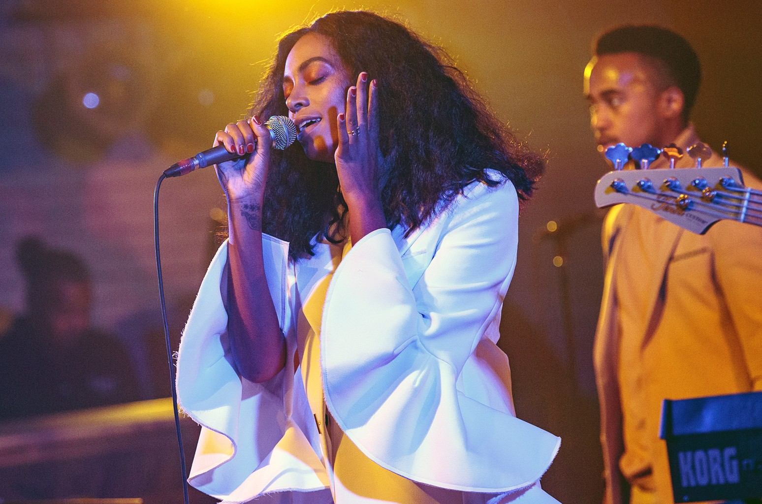 Solange Knowles performs at the House of Blues