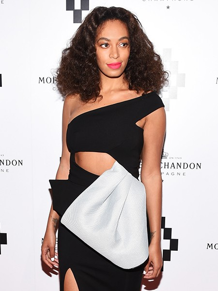 Solange Knowles attends the Moet Nectar Imperial Rose x Marcelo Burlon Launch Event