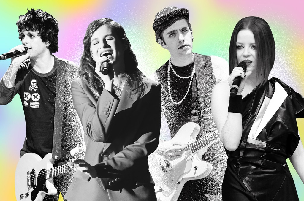 Billie Joe Armstrong, Christine & The Queens, Ezra Furman & Shirley Manson