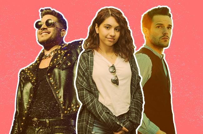 Pop Songs of Summer: Brandon Flowers, Alessia Cara, Adam Lambert