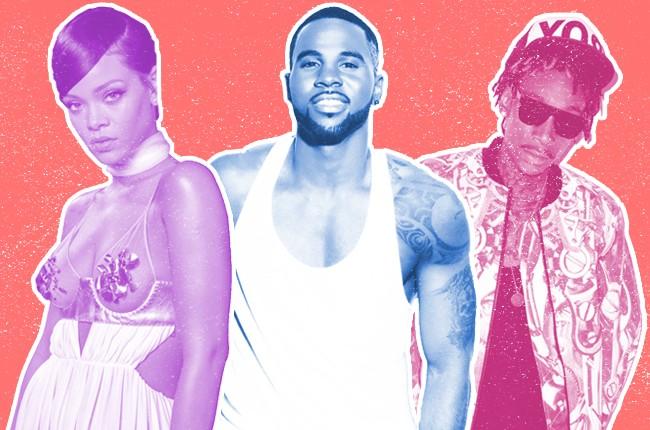 Songs of Summer: Rihanna, Jason Derulo and Wiz Khalifa