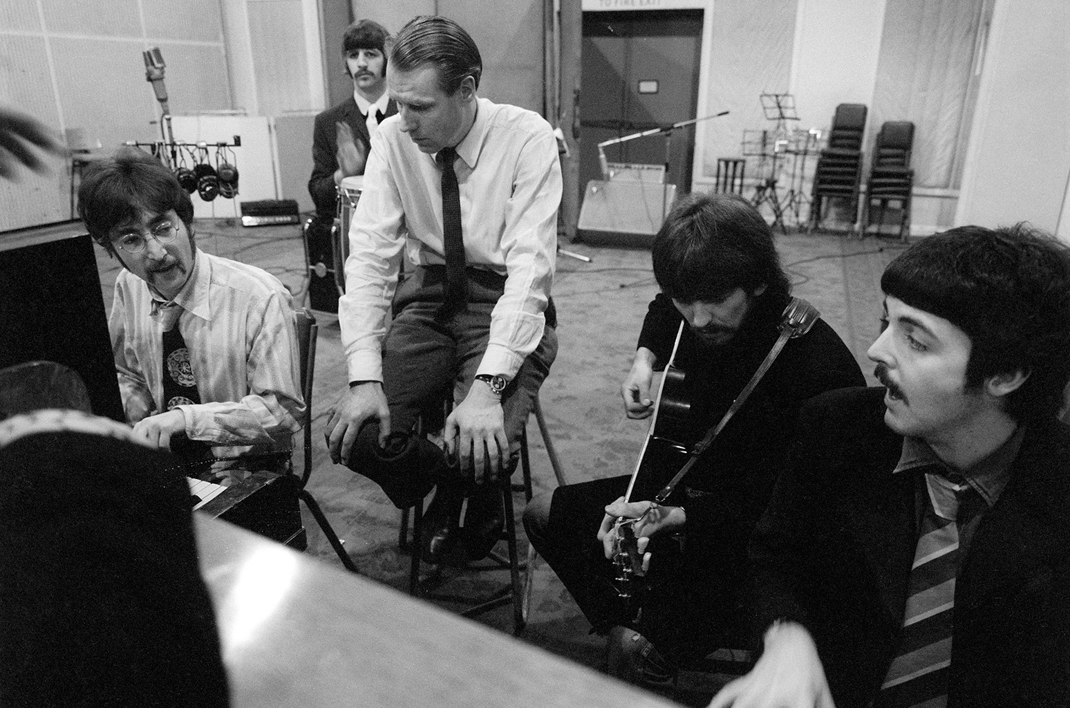 The Beatles and Sir George Martin