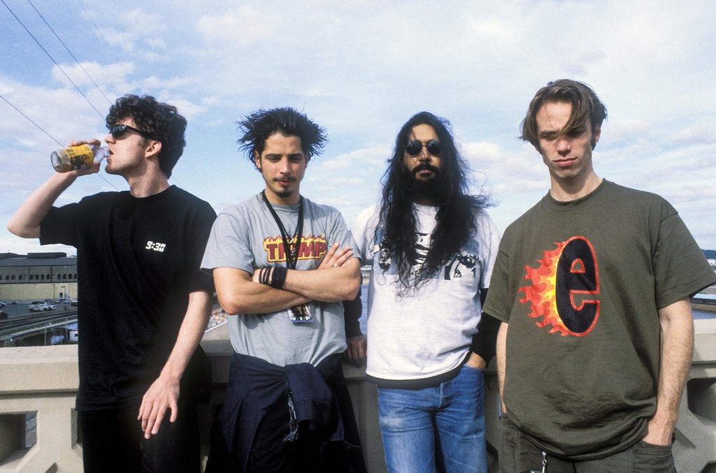 Soundgarden photographed in 1994.