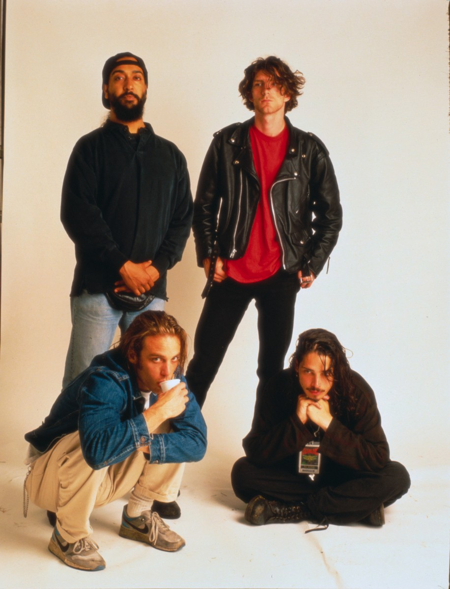 Soundgarden photographed in 1992.