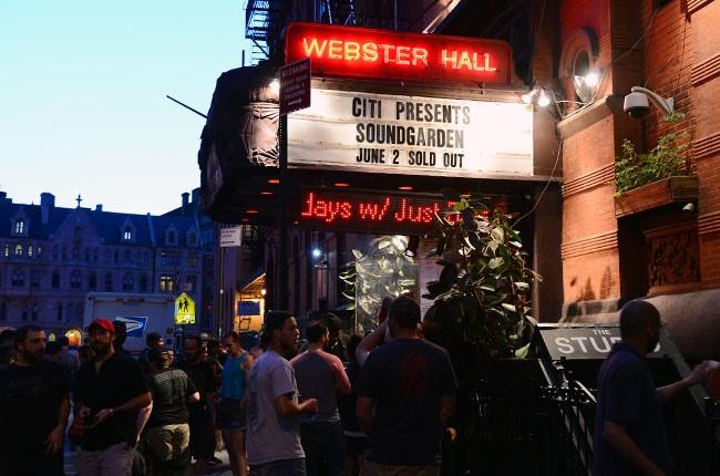Soundgarden, Webster Hall
