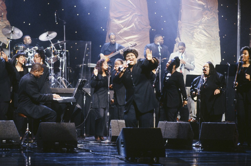Sounds of Blackness perform on July 17, 1992