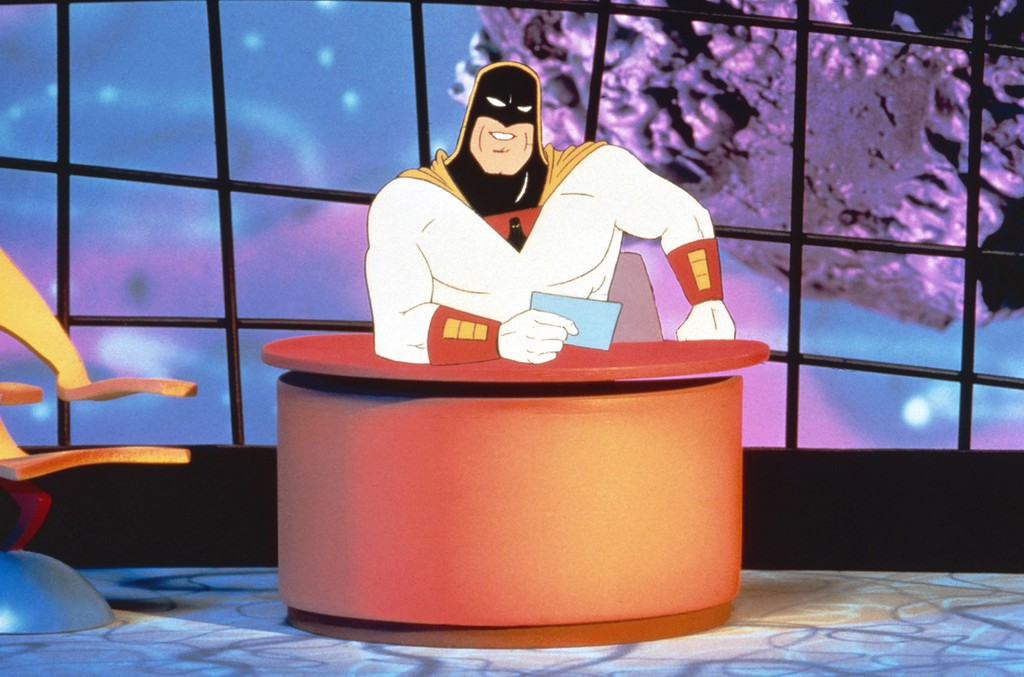 Space Ghost on Cartoon Network