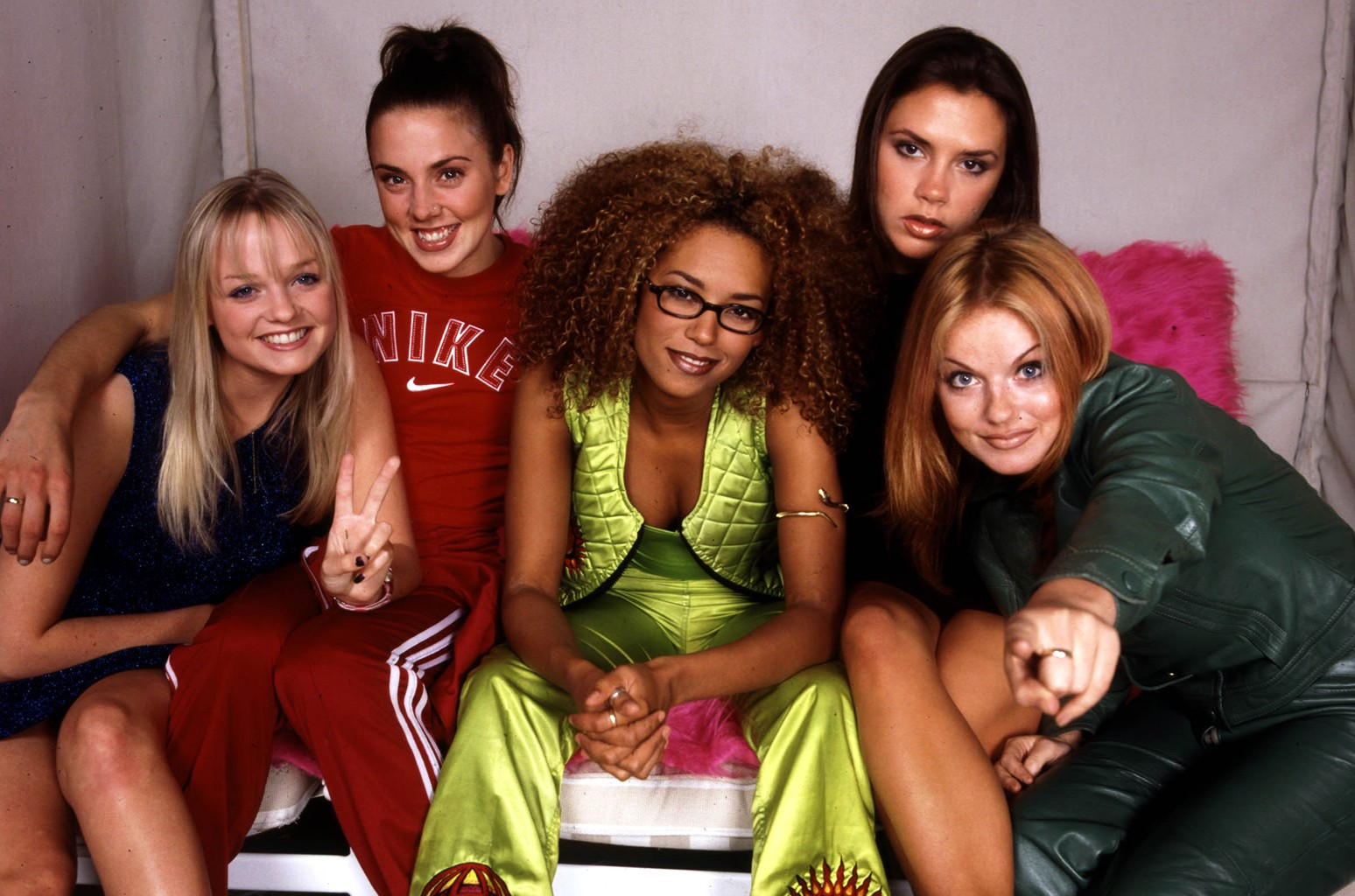 The Spice Girls photographed in New York City