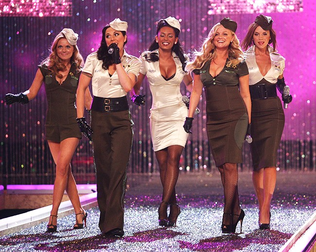 Spice Girls at the Victorias Secret Fashion Show