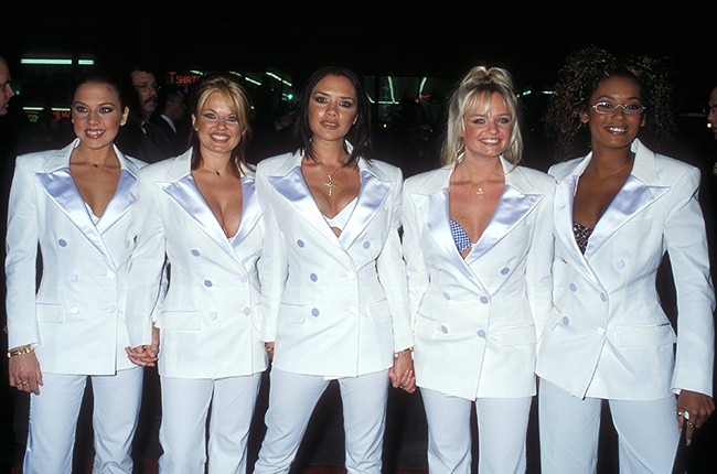 Spice Girls Spice World Hollywood premiere