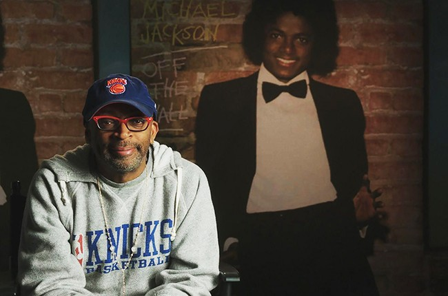 "Spike Lee photographed for ""Michael Jackson's Journey from Motown to Off the Wall"" in 2016."