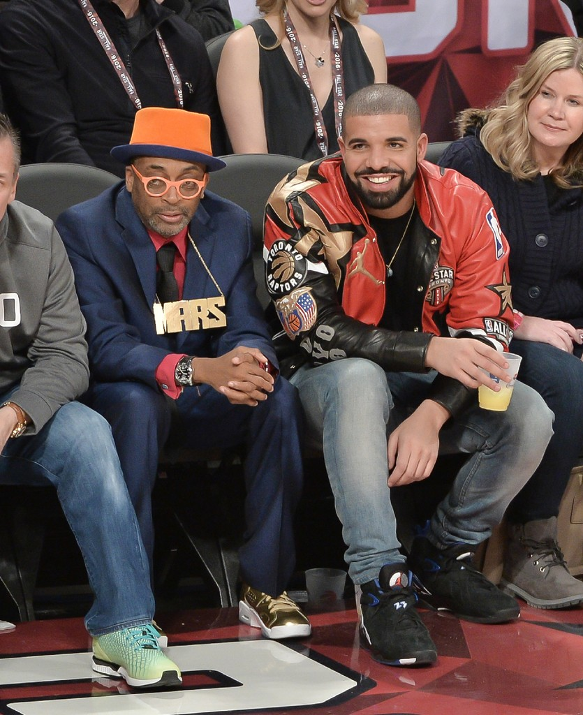 Spike Lee and Drake