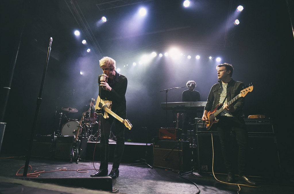 Spoon perform at The Observatory on March 6, 2017 in Santa Ana, Calif.