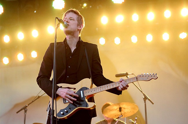 Spoon perform at Governors Ball 2014
