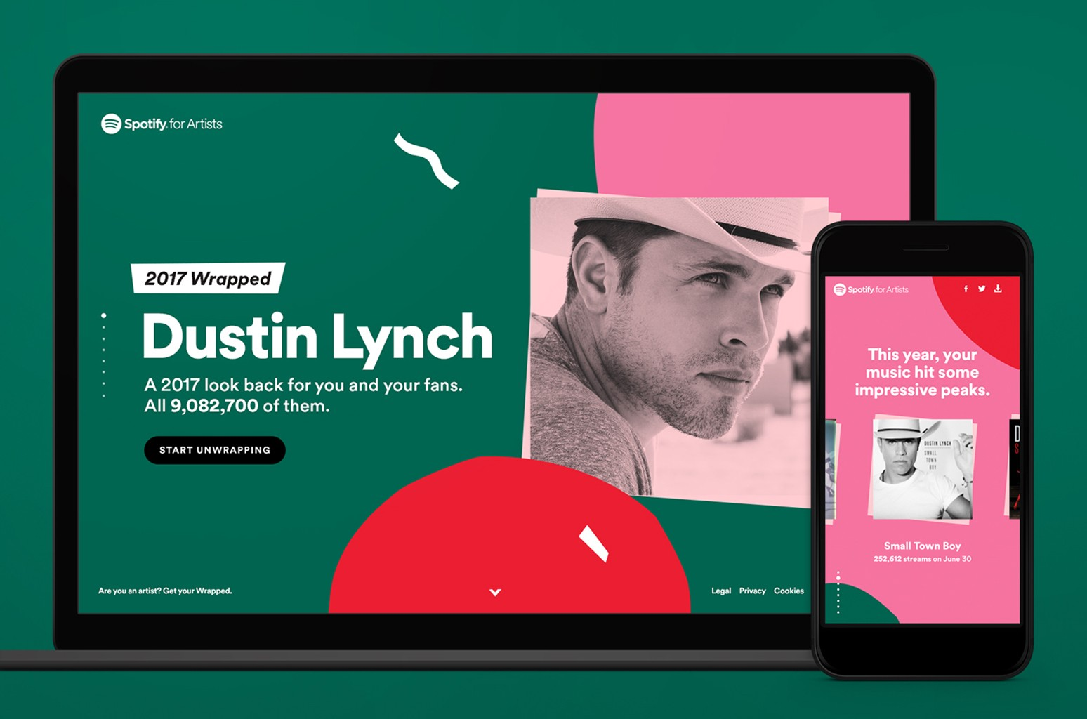 Dustin Lynch Spotify for Artists