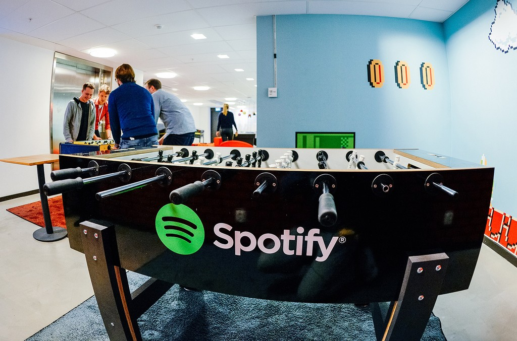 The Spotify company headquarters in Stockholm
